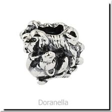 Authentic Trollbeads Sterling Silver 11355 Family of Puppies :0