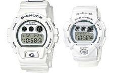 CASIO LOV-16C-7 Lover's Pair Watch '16 Digital White Nylon Cloth Limited Edition