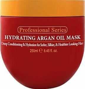 Hydrating Argan Oil Hair Mask and Deep Conditioner By Arvazallia  8.45 Oz