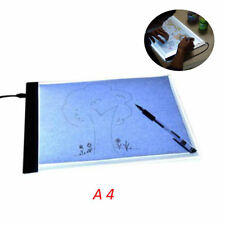 "A4 14"" LED Tracing Light Board Drawing Pad Stencil Display Stepless Brightness"