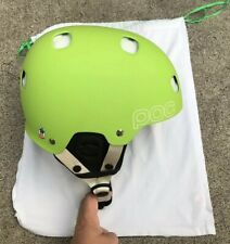 POC Receptor BMX Mountain Bike Helmet Lime Green Size XS/S With DUST BAG