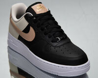Nike Air Force 1 '07 Women's Black Metallic Red Bronze Lifestyle Sneakers Shoes