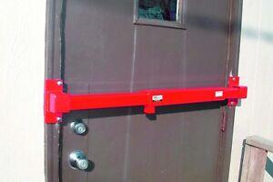 Job Office Door Lock Keyed for Site, Utility, Semi Trailer Security warehouse