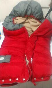 Blanket '212 evolution®' Extendable Stroller & Car Seat Footmuff RED