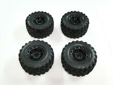 NEW TRAXXAS MAXX 1/10 Wheels & Tires Set of 4 RXE18