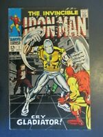 The Invincible Iron Man  7 Gladiator Appearance