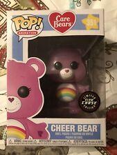 CARE BEARS: CHEER BEAR GLOW IN THE DARK GITD CHASE FIGURE FUNKO POP RARE