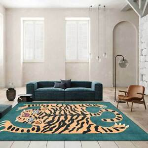 Tiger Leopard Animal Print Hall Runners Small Extra Large Long Room Carpet Rug