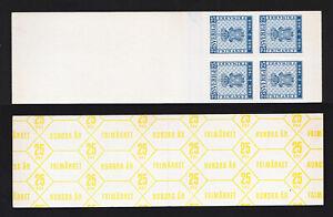 SWEDEN SCOTT 476A COAT OF ARMS ⭐ SLOT MACHINE BOOKLET ⭐ VF HIGH CV 1955
