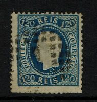 Portugal SC# 32, Used, Shallow Center Thin, Perf 12.5 - Lot 072517