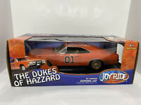 "🔥Dukes of Hazzard General Lee 1:18 Dodge Charger R/T  ""Dirty Edition"" Ertl Rc2"
