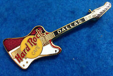 DALLAS TEXAS CLASSIC RED & WHITE REVERSE FIREBIRD HRC GUITAR Hard Rock Cafe