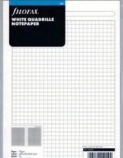 Filofax 342905 Einlage A5/Multifit: karierte, weiße Notizblätter