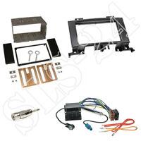 VW Crafter 2-DIN Einbaurahmen Radioblende ISO Adapterkabel Antenne KFZ Einbauset