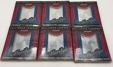 (6) Marilyn Monroe Hollywood Legends Hologram 1992 Harold Lloyd Collection Sets