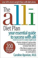THE ALLI DIET PLAN by Caroline Apovian MD (2007, Softcover)