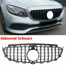 Kühlergrill Grill für Mercedes E Klasse W213 S213 Schwarz AMG Panamericana GT