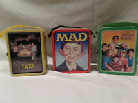 MINI METAL LUNCH BOXES LOT OF 3