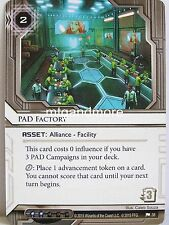 Android Netrunner LCG - 1x Pad Factory #038 - Business First