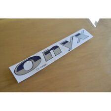 STERLING Eccles/Elite Onyx Chrome (STYLE 1) Caravan Side Sticker Graphic - PAIR