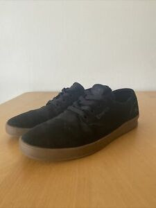 Emerica Romero Black Sneakers Skate Shoes UK9 US10 EUR43