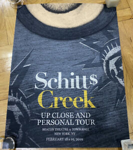 Schitt's Creek Up Close And Personal Tour NYC Poster (New York City Dan Levy)