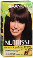 Garnier Nutrisse Haircolor - 40 Dark Chocolate (Dark Brown) 1 Each (Pack of 2)