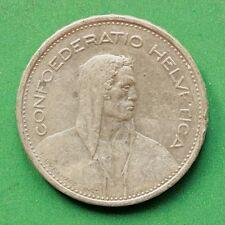 1932 Switzerland Silver 5 Franc Five Franc SNo42312