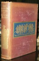 c1896, POETICAL WORKS OF ROBERT BURNS, POETRY, THE APOLLO POETS SERIES