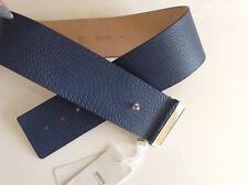 BNWT 100% auth ARMANI, Ladies Luxury Blue Belt with logo. M RRP £ 4d76669c244
