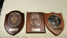 Military Sealift Command/ Merchant Marine Officer Plaque Grouping Named 3 Plaque