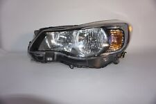SUBARU IMPREZA HEADLIGHT 2012 2013 2014 LEFT DRIVER OEM HALOGEN