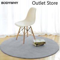 Memory Foam Chair Mat Area Rug Bedroom Rugs Mats Doormat Big Round Carpet