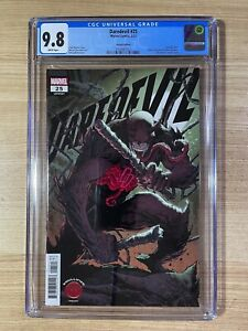Daredevil #25 (2021 Marvel) Elektra becomes new DD Knullified Variant CGC 9.8