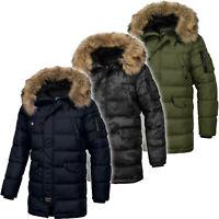 PIT BULL WEST COAST Mens Jacket Kurtka PitBull Hooded Windproof Winter ALDER