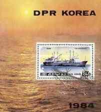 Timbre Bateaux Corée BF 2618 o réf. Stampworld lot 14134