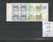MRW 69209/ MH BOOKLET Deutschland ** MNH Nr. 24 a ZB