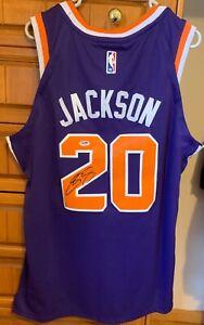 Josh Jackson Signed Phoenix Suns Nike Jersey (PSA COA)#4 Overall Pick 2017 Draft