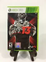 WWE W13 (Microsoft Xbox 360, 2012) FREE SHIPPING Complete