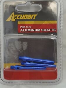 Accudart 2BA Size Aluminum BLUE Shafts (3 in Package)