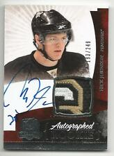 10-11 Nick Johnson The Cup Auto Rookie Card RC #135 Sweet Jersey Patch 193/249