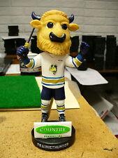 IHL UHL Bloomington Prairie Thunder Chip Mascot Bobblehead Sealed NIB Nodder