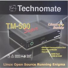 TECHNOMATE TM-500 Super Linux Enigma Satellite Receiver NEW