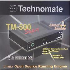 TECHNOMATE TM-500 Super Linux Enigma Satellite Receiver NEW