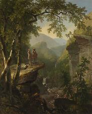 Asher Brown Durand Kindred Spirits Canvas Print 20''x24'' (51x61cm)