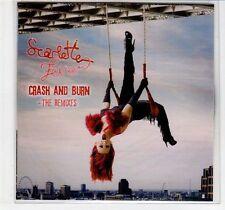 (EC963) Scarlette Fever, Crash & Burn (the remixes) - 2011 DJ CD