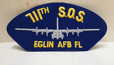 2 711th SOS S.O.S. Eglin AFB FL Patches Air Force Base Patch