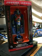 DC Direct Justice League MARTIAN MANHUNTER Animated Mini-Maquette MIB