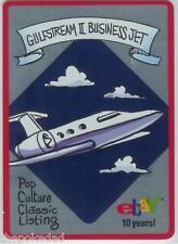 eBay Live! 2005 M/NM #11/12 GULFSTREAM II BUSINESS JET Trading Card*