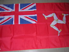 Flag of the British Empire Civil Ensign of the Isle of Man Red Ensign 3 ft X 5ft